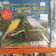 CD os mais belos cantos dos canarios belgas