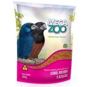 Megazoo -  Curió , Bicudo , Azulao - 350gramas