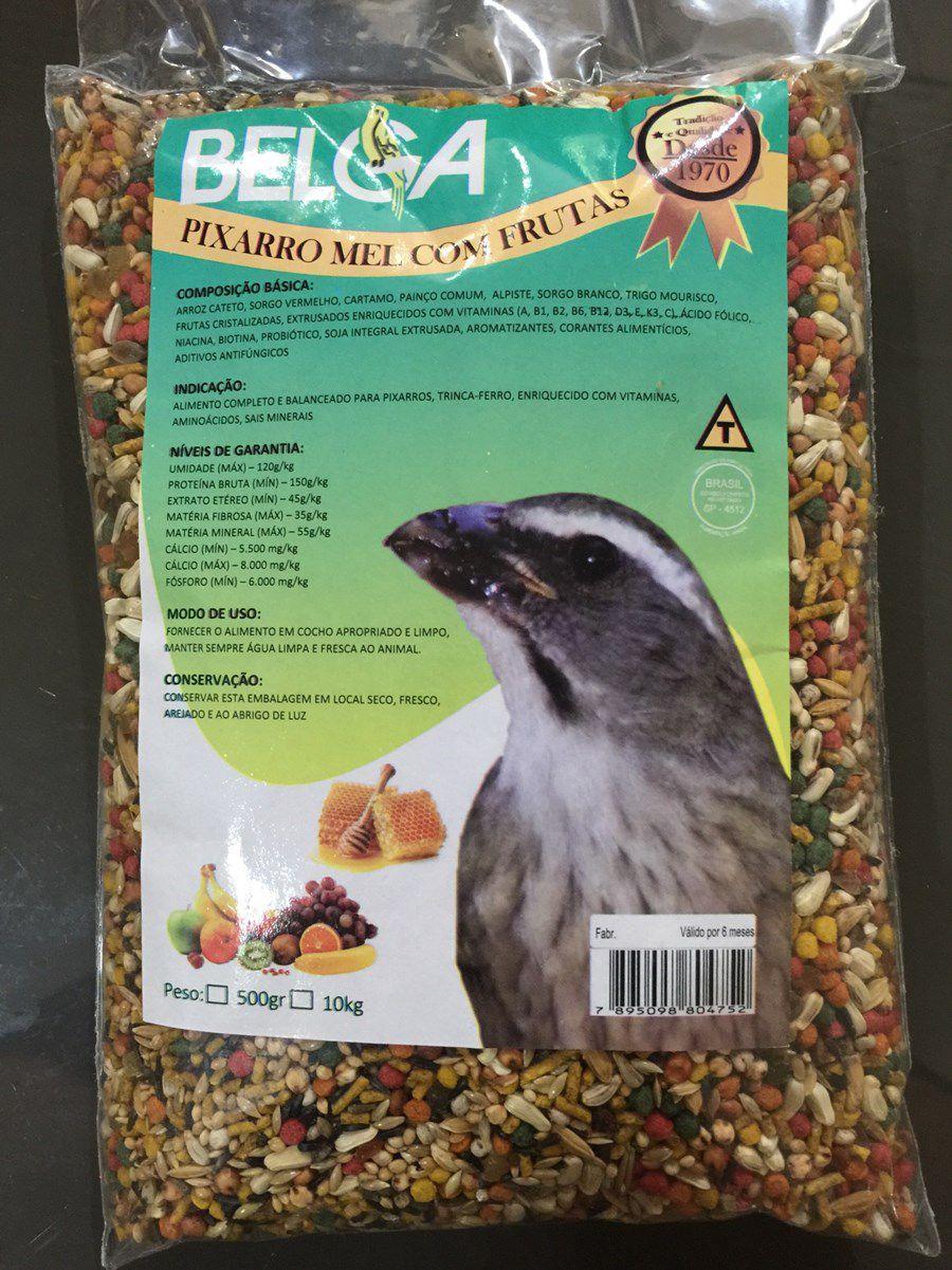 Mistura Belga Trinca Ferro Mel C/  Frutas