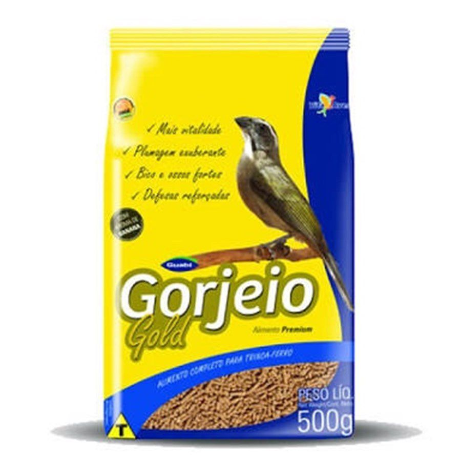 500g Gorjeio Gold para Sabias / Trinca Ferro / P.Preto