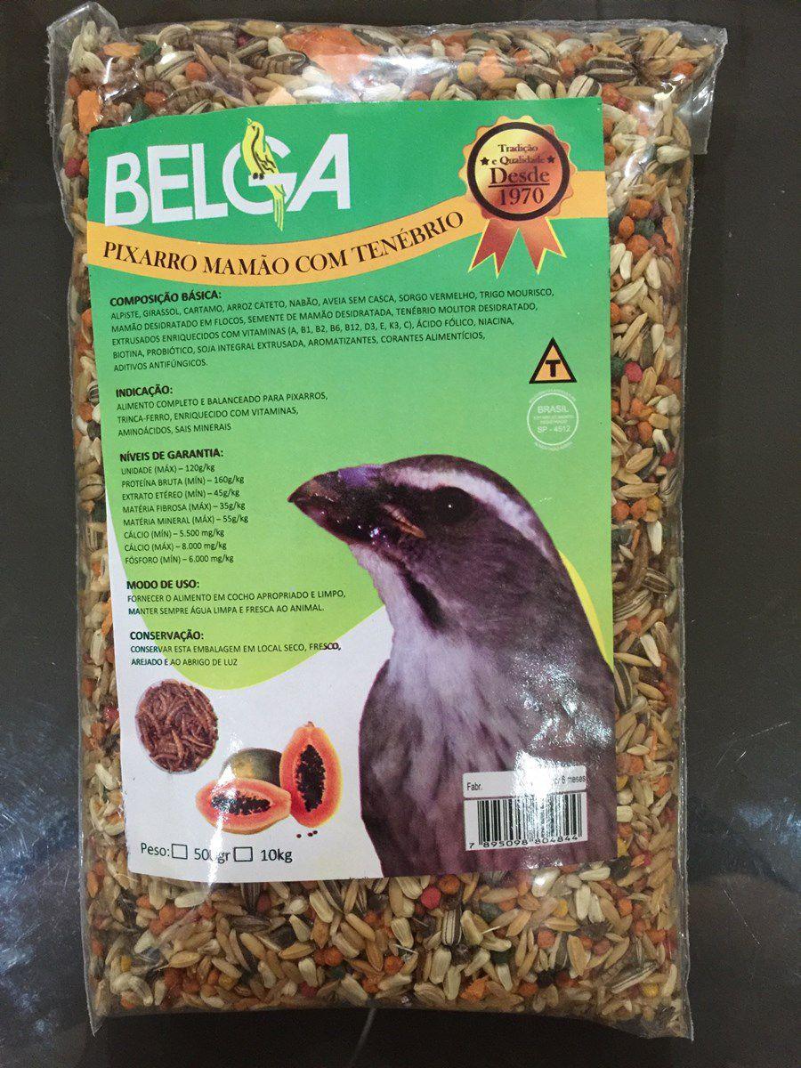 Mistura Especial Belga Trinca Ferro ( Mamao/ Tenebrio )
