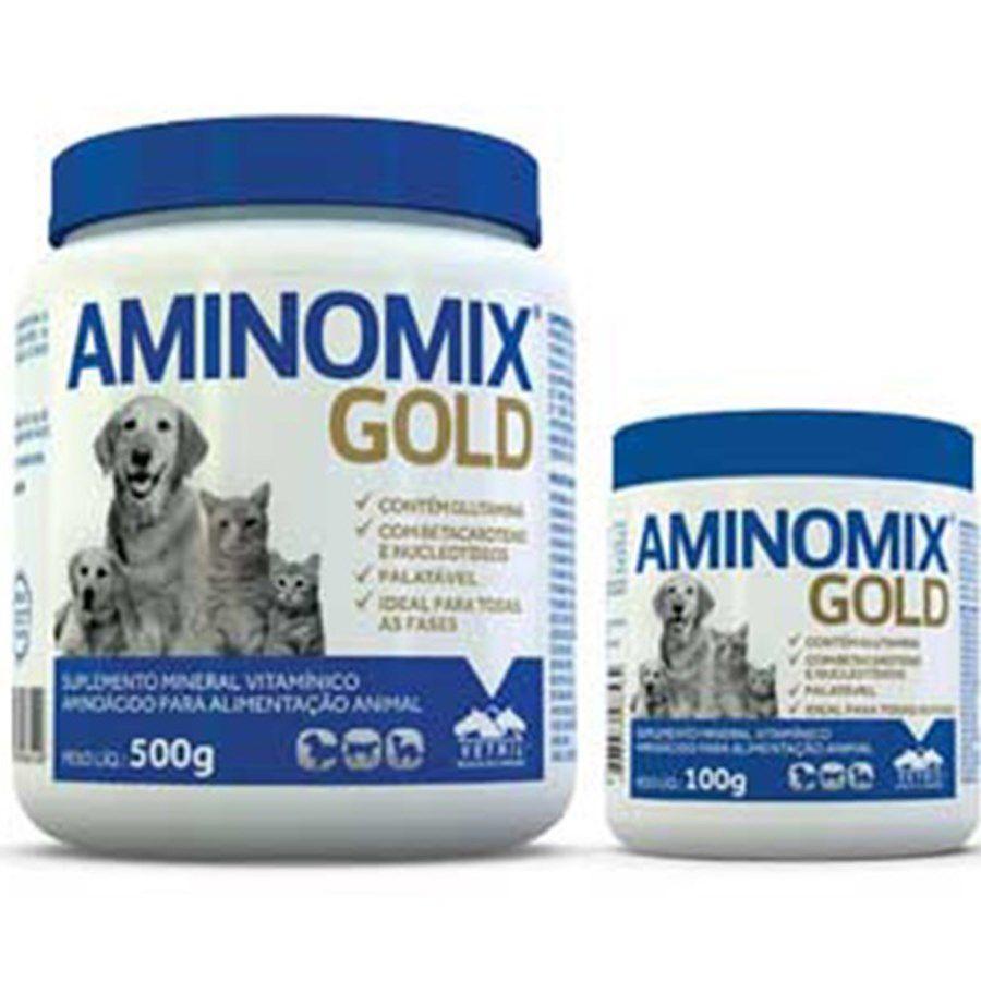 Aminomix Pet Gold - 100 gramas