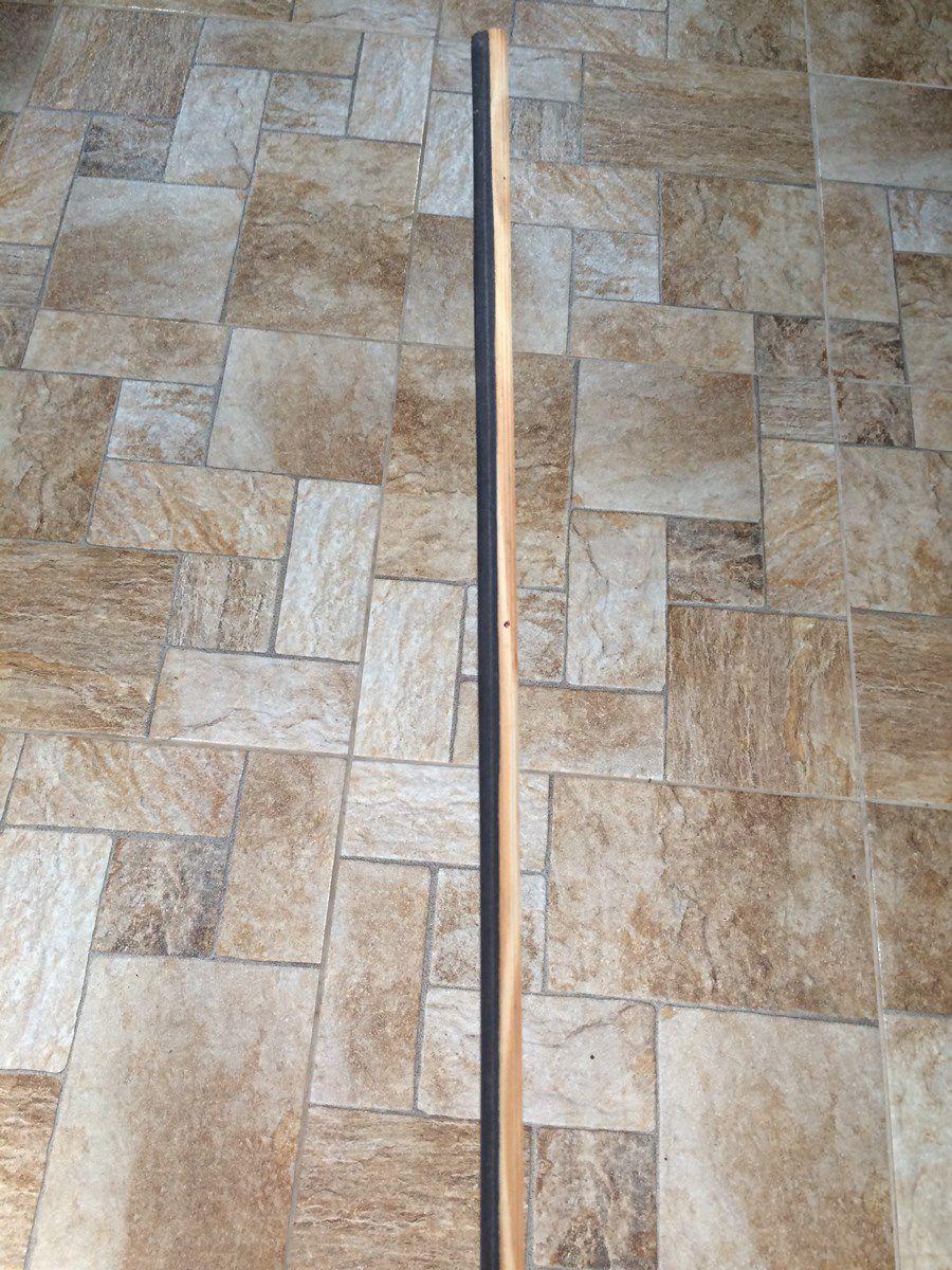 Barra De  Puleiro Estriado com Lixa 9,5 mm