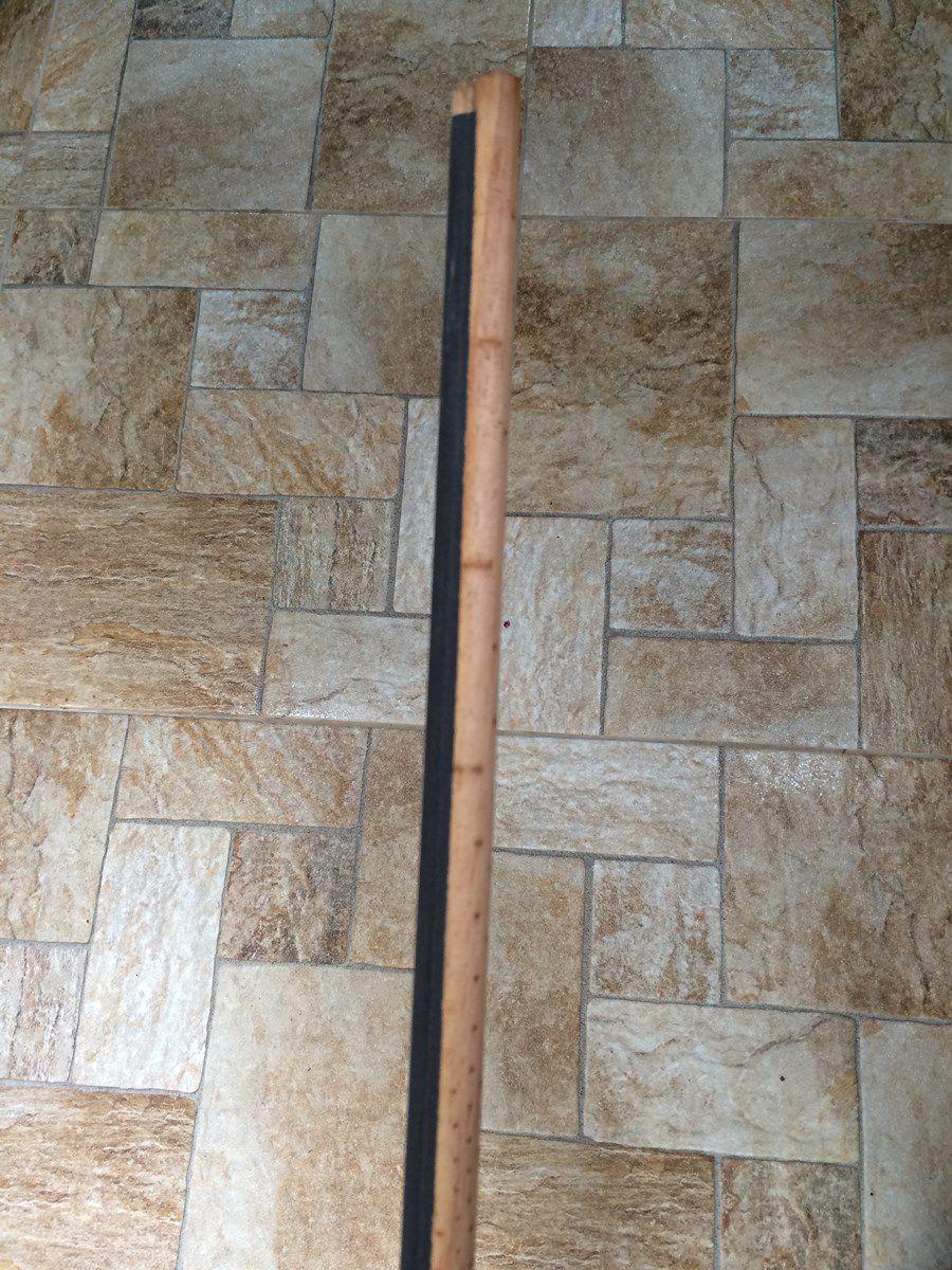 Barra de Puleiro Lisa com Lixa 15mm