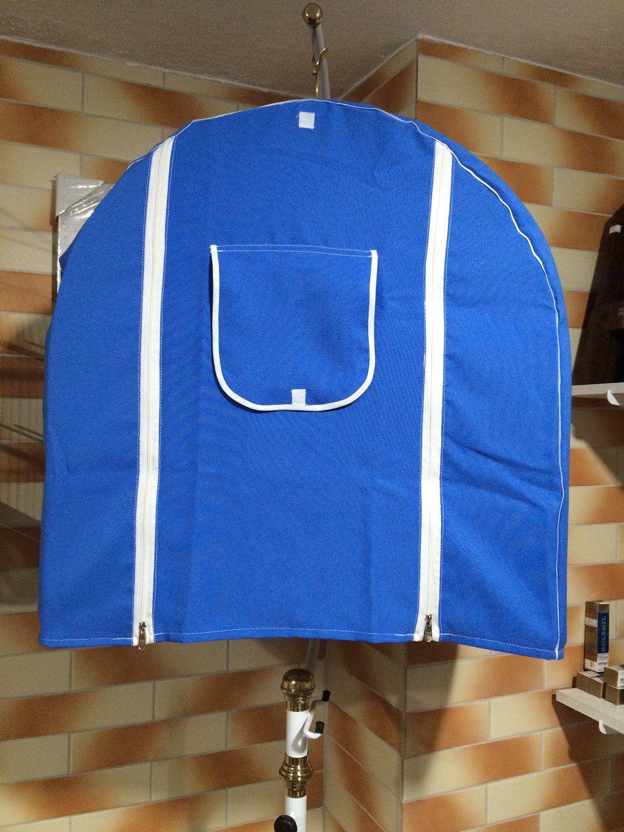Capa Azul Lisa   - Excelente Tecido