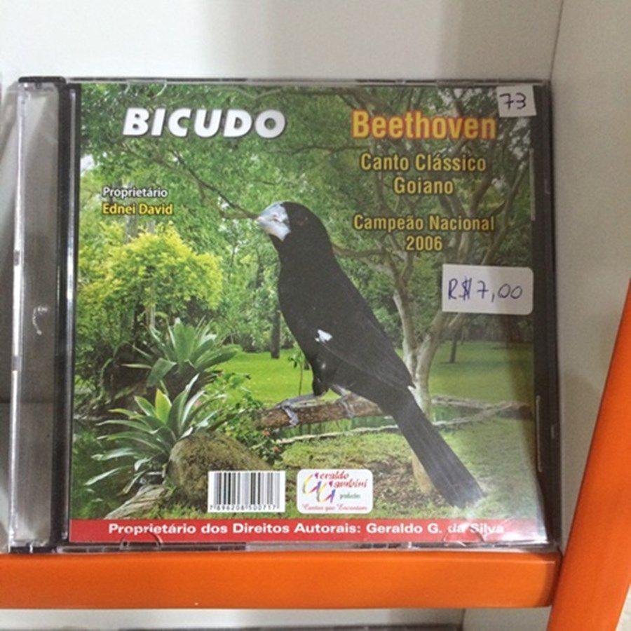 CD Bicudo Beethoven - Canto Goiano Clássico