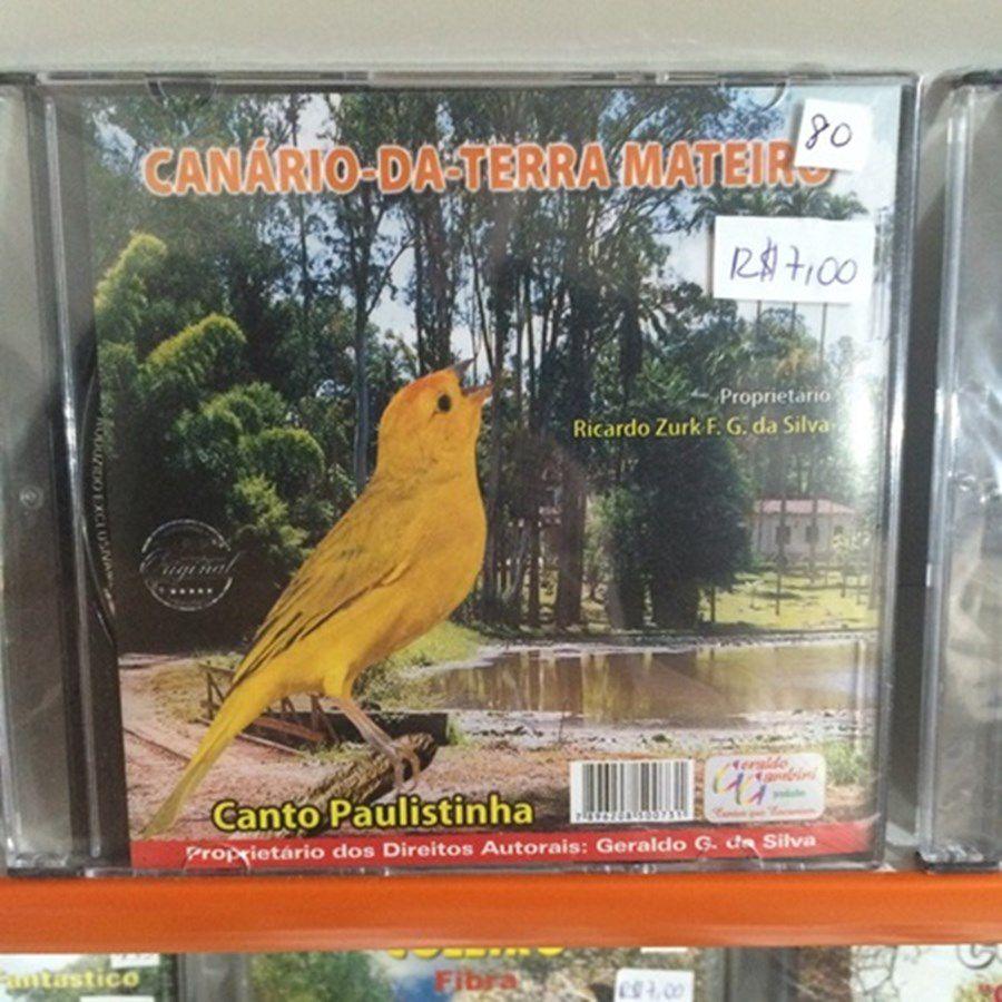 CD Canario da Terra - Fibra