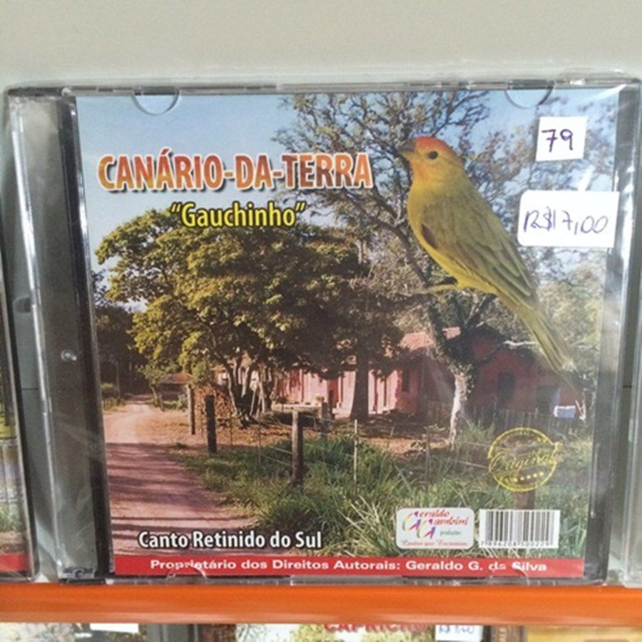 CD canario da terra mateiro - canto paulistinha
