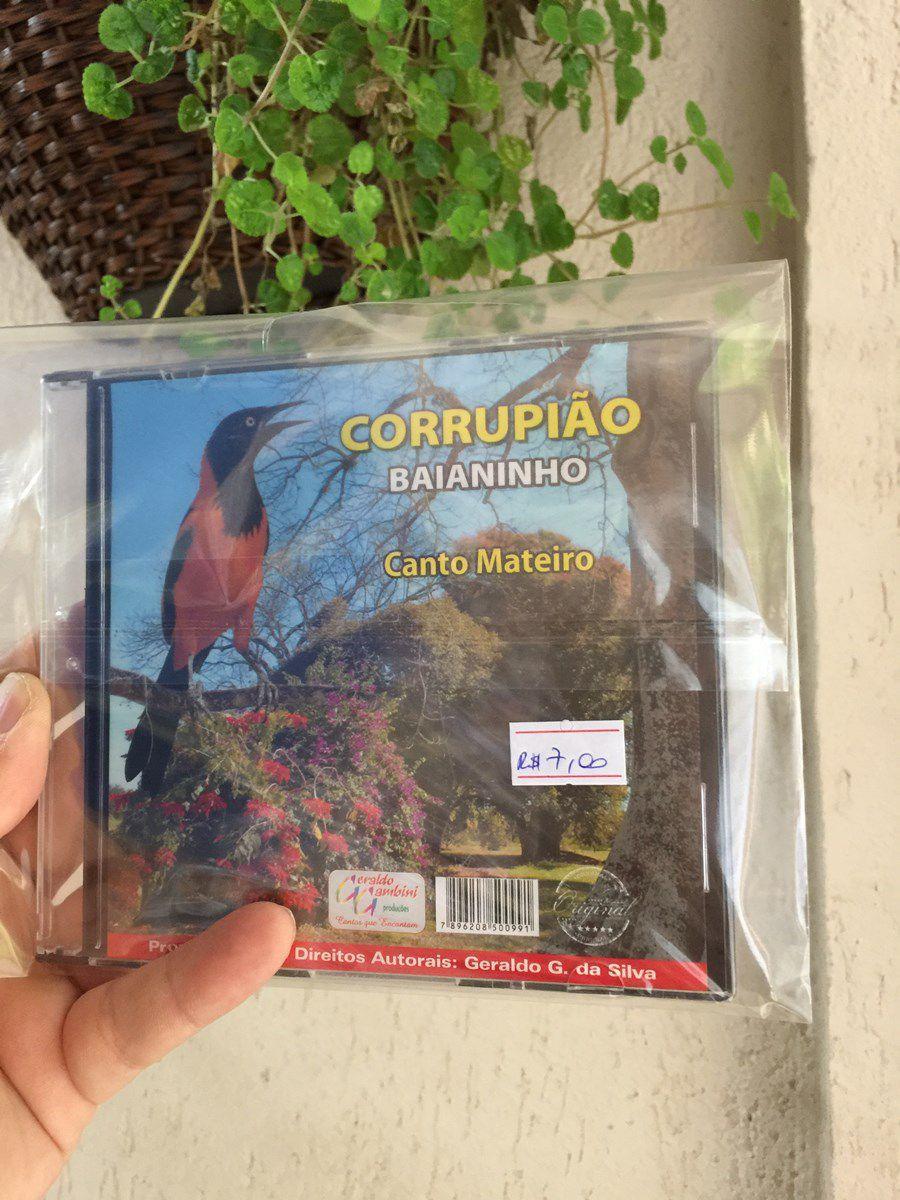 CD Canto Mateiro Corrupiao Baianinho