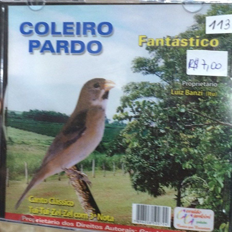 CD Coleiro Pardo Fantástico