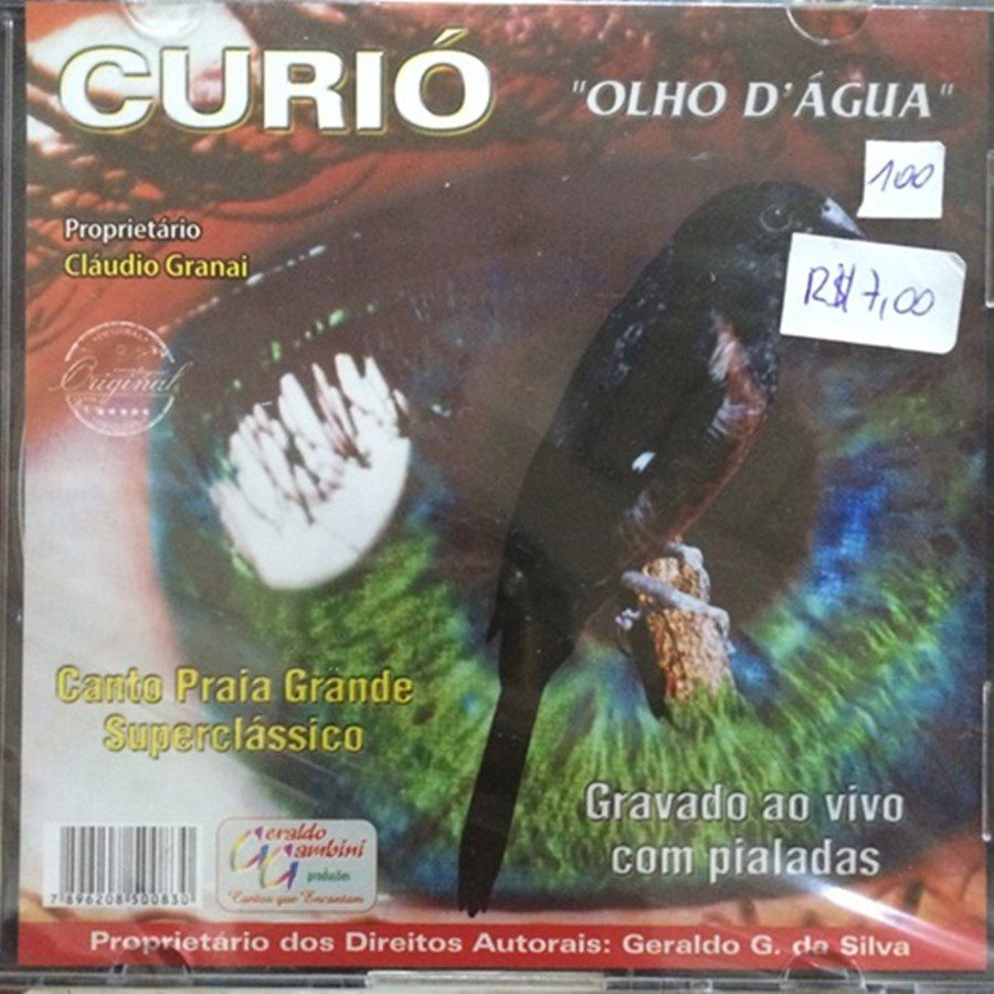CD Curio Olho DAgua