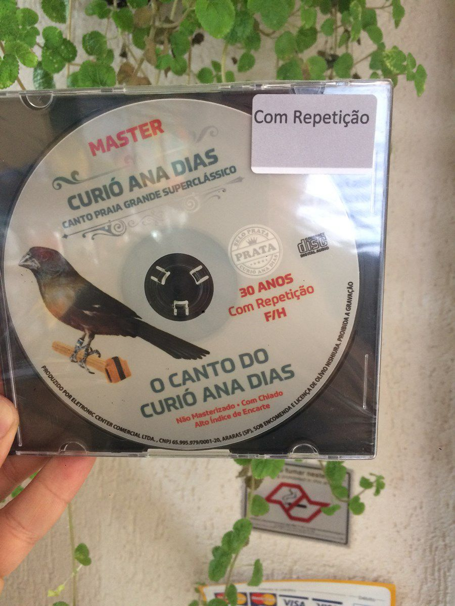 CD Matriz Selo Prata 30 Anos Com Repeticao F/H