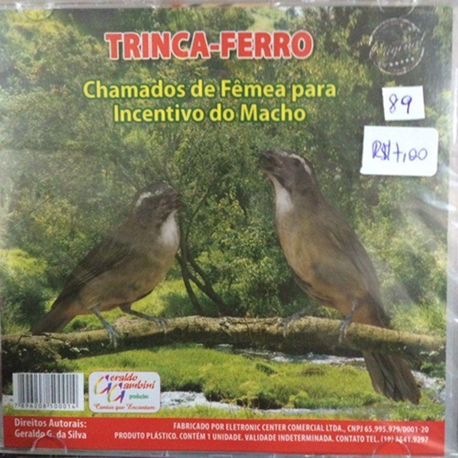 CD para Trinca Ferro - Chamado de Fêmea