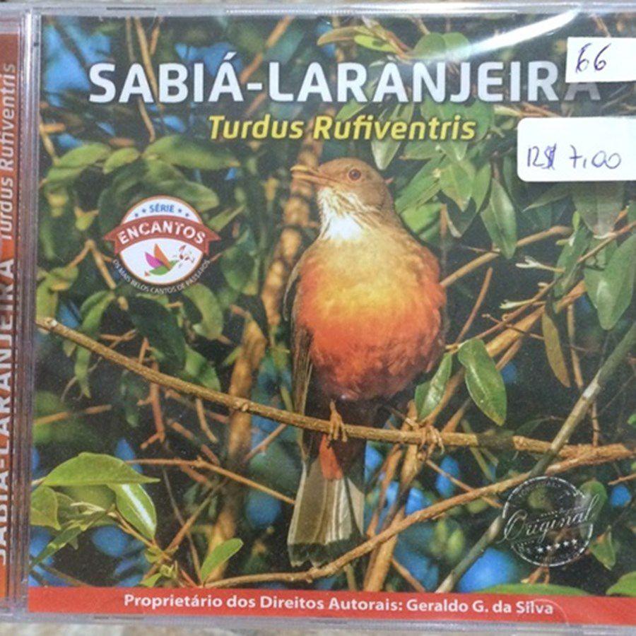 CD sabia laranjeira - série encantos - Lançamento 2016