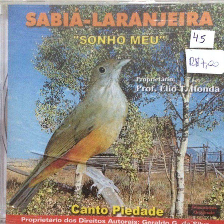 CD Sabia Laranjeira Sonho Meu