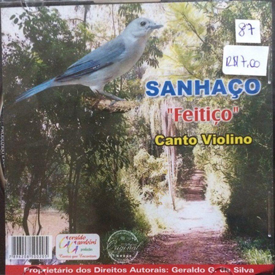 CD Sanhaço Feitico - Canto Violino
