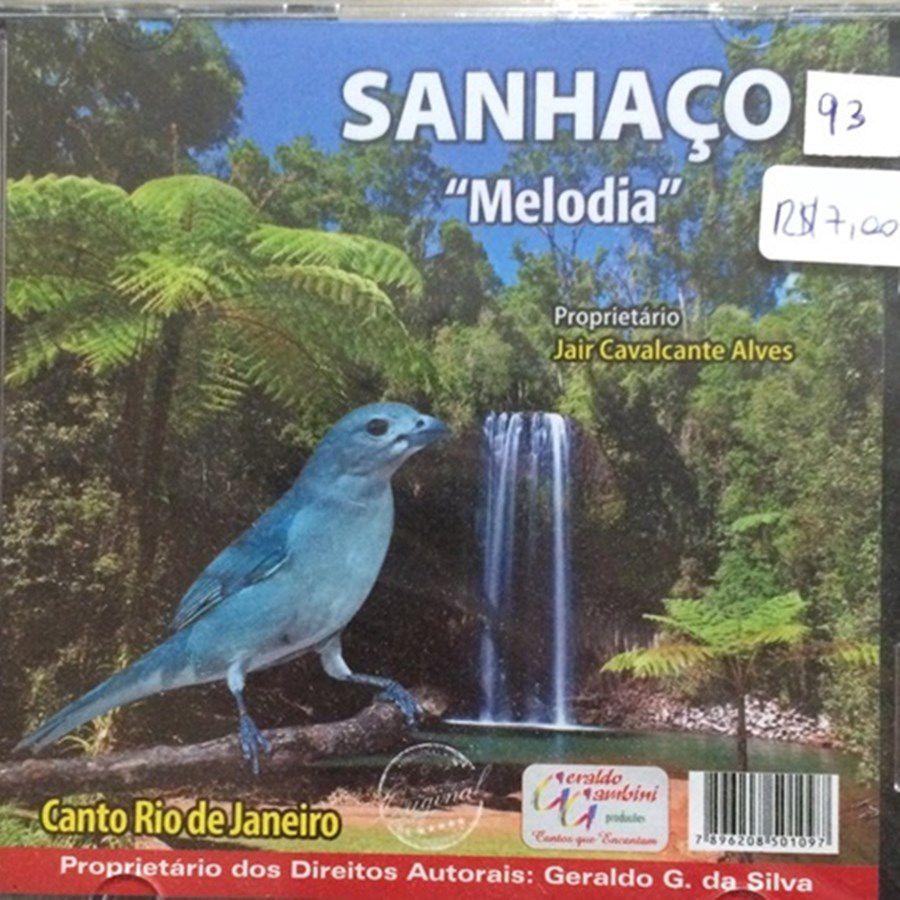 CD Sanhaço Melodia - Canto Rio de Janeiro