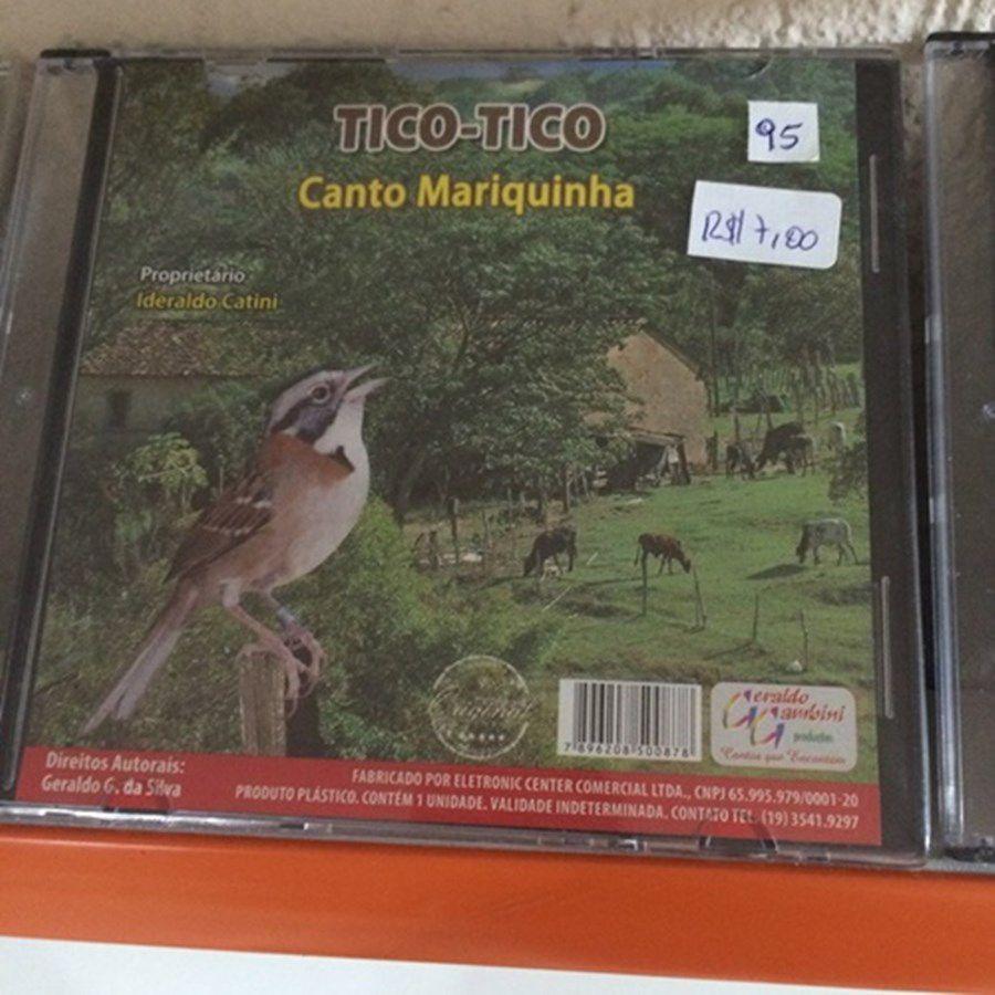 CD Tico Tico canto Mariquinha
