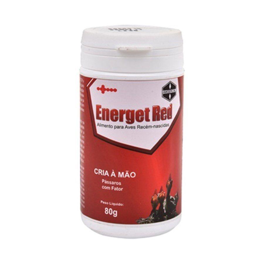 Energet Red 80 g - indispensável para filhotes com fator vermelho