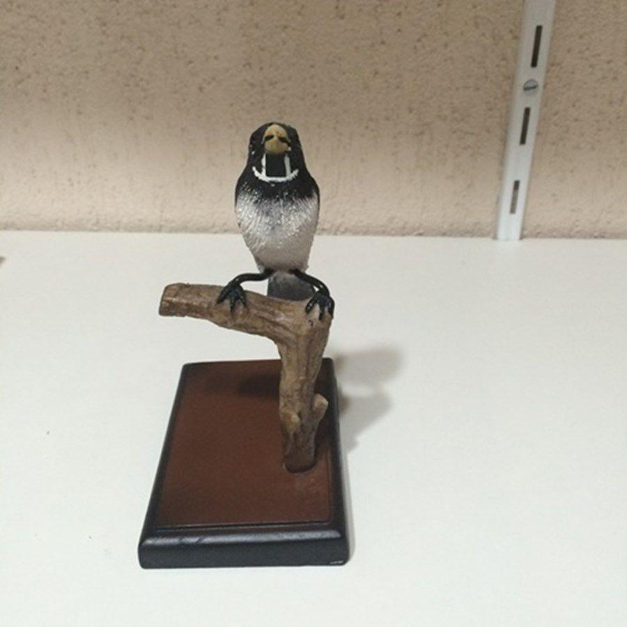 Estatua Universo do Curio e Cia ( Coleirinha )