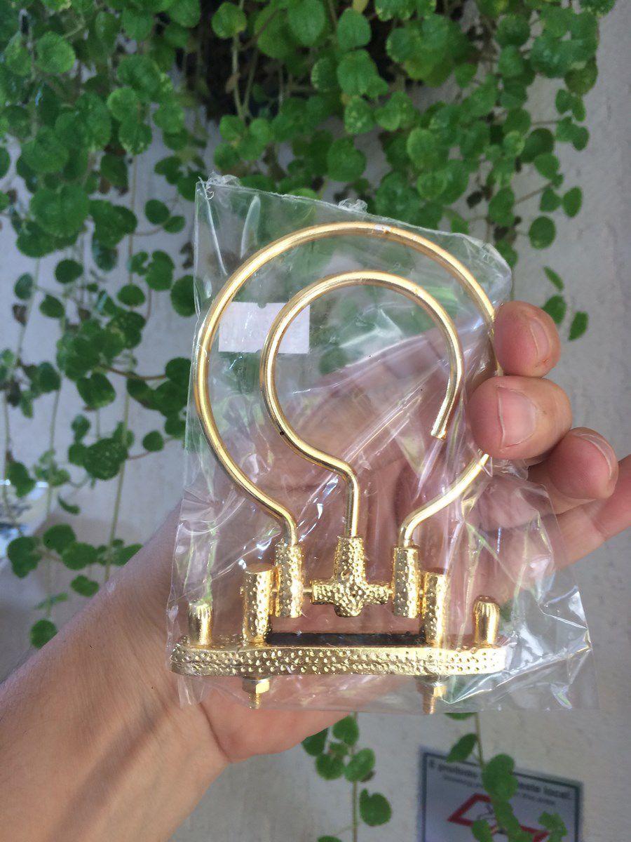Gancho Super Luxo - Linha Gold Curio