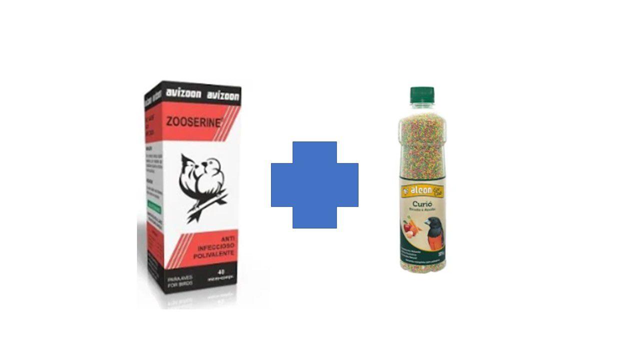 Kit Zoozerine - 40 micro pirolas - avizoon + ALCON ECOCLUB CURIO 325G