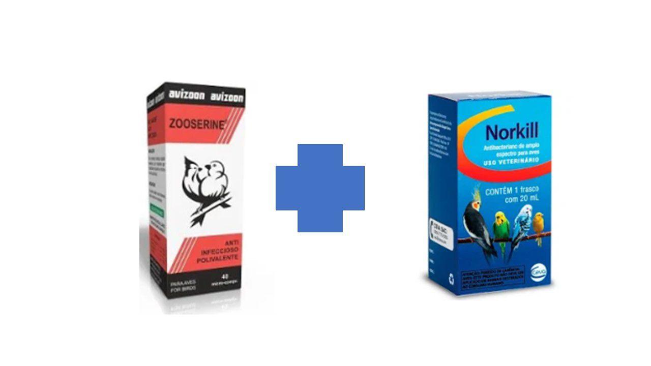 Kit Zoozerine - 40 micro pirolas - avizoon + Norkill