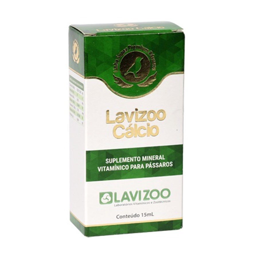 Lavizoo Cálcio 15ml - um dos melhore do mercado