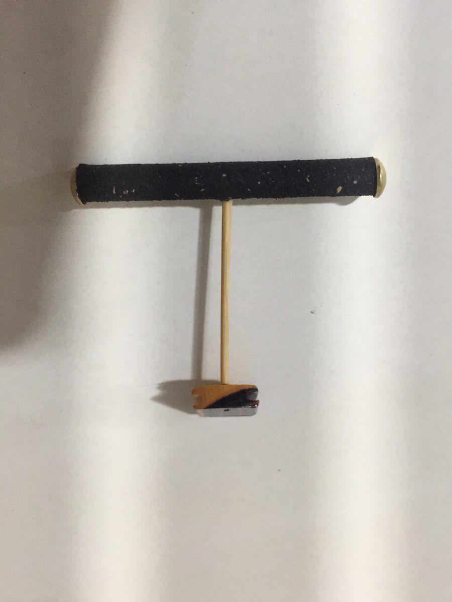 Maritaca Frontal Luxo - Em Cortiça Black