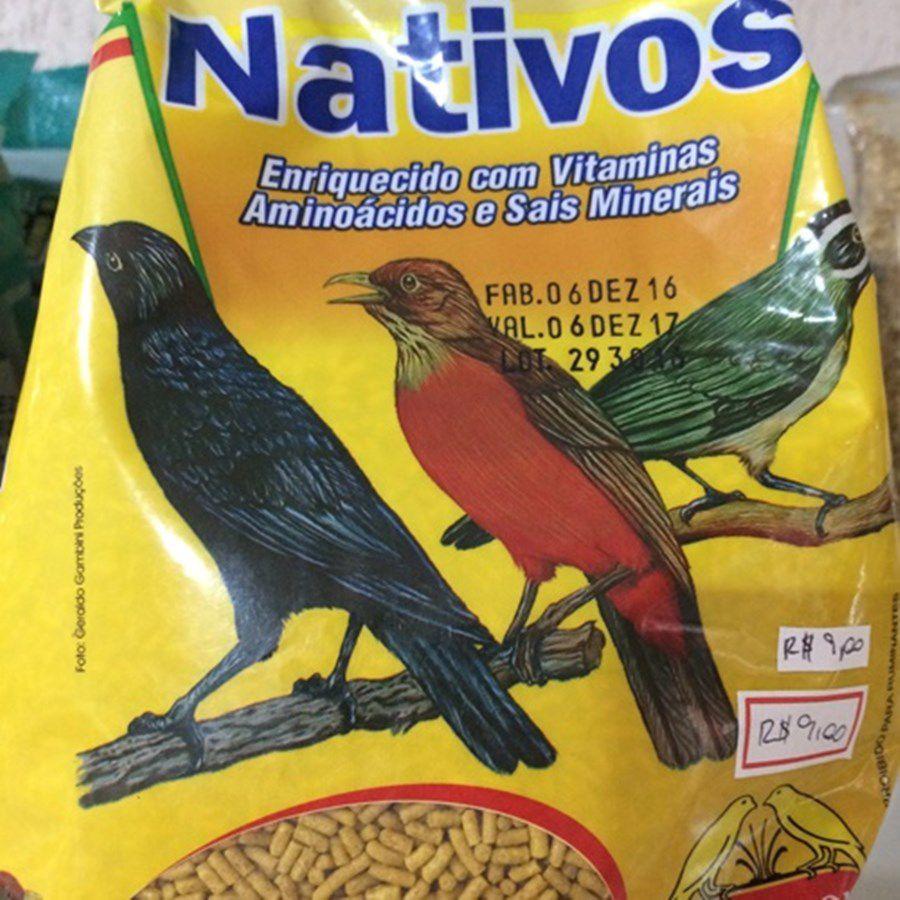 Nativos - Biotron - Melhor ração para Sabias