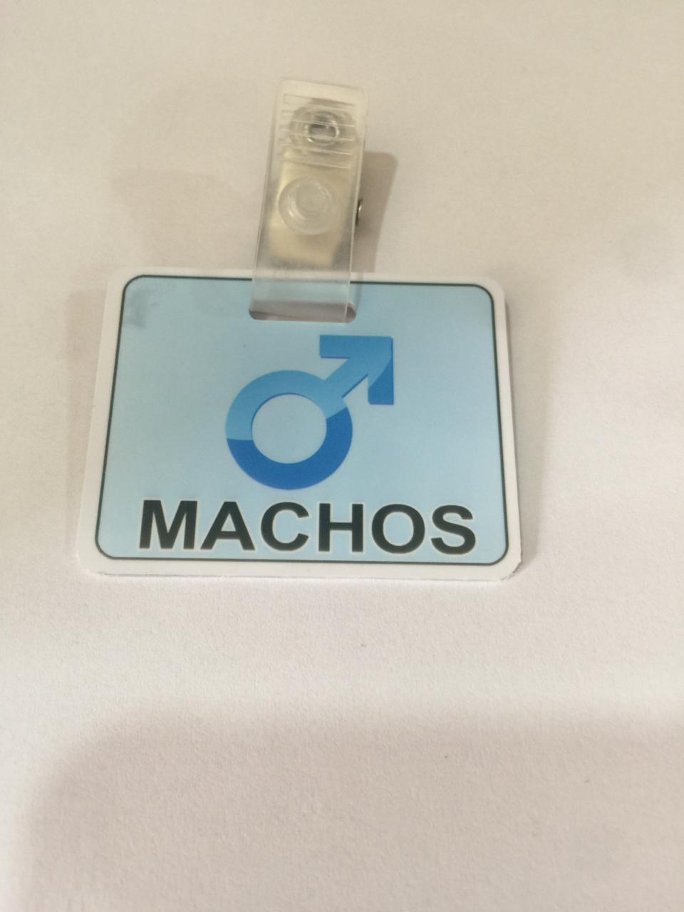 PLACA MACHOS