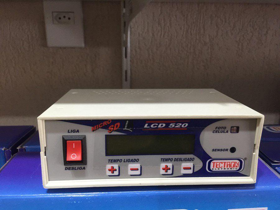 Tectron LCD 520 com Cartão SD