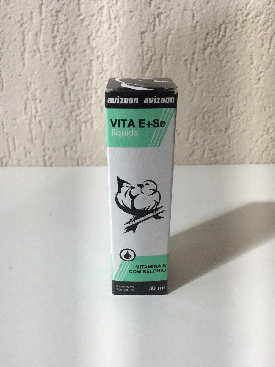Vita - E Selenium 30ml - Útimo para Reproducao e Aves Pararam encher ovo