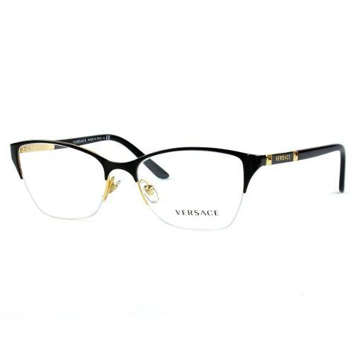 Armação De Óculos Versace Feminina Mod.1218 1342 - Omega Ótica e ... 77471419e5
