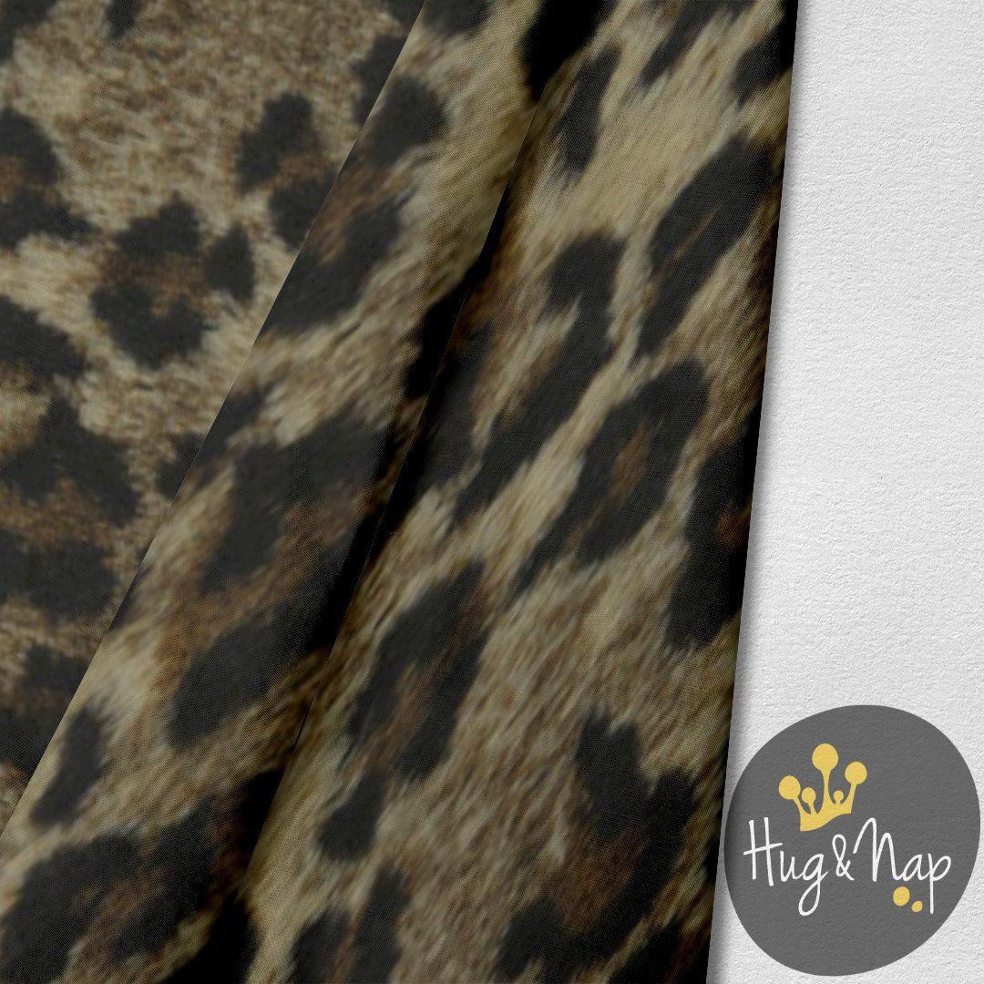 Capa de Pelúcia para Cama Box Hug&Nap - Jaguar