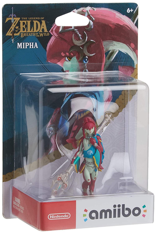 Amiibo - Mipha - Zelda: Breath of The Wild