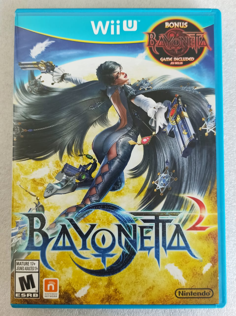 Bayonetta 2 + Bayonetta 1 - USADO - Nintendo Wii U