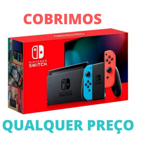 Console Nintendo Switch Neon - Nova Edição