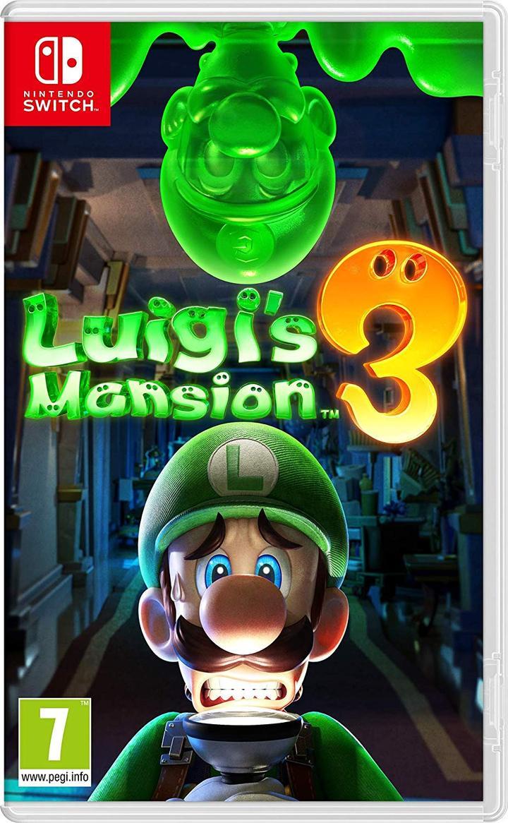 Luigi's Mansion 3 - Nintendo Switch - ENVIO INTERNACIONAL