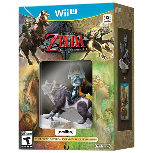 The Legend Of Zelda + Amiibo Twilight Princess Hd - Wii U
