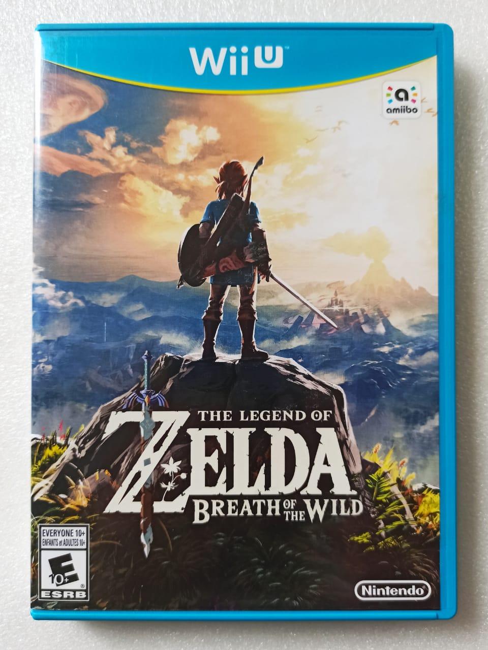 The Legend Of Zelda: Breath Of The Wild - USADO - Nintendo Wii U