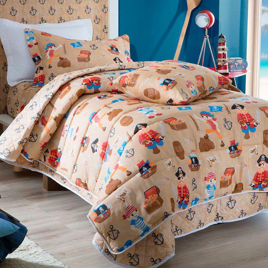 828062cee7 Edredom De Solteiro Infantil Dupla Face Facil Lavar Sultan - MS Store