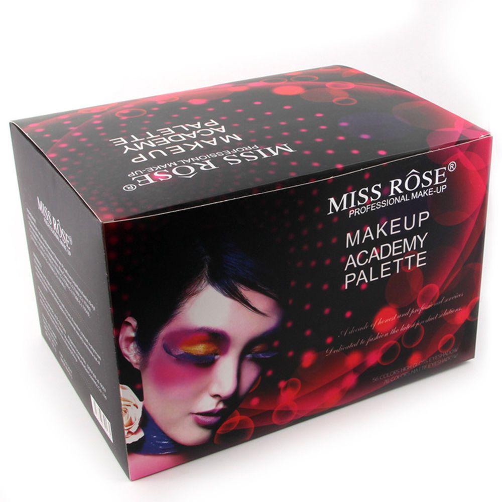 Kit de maquiagem profissional Miss Rose