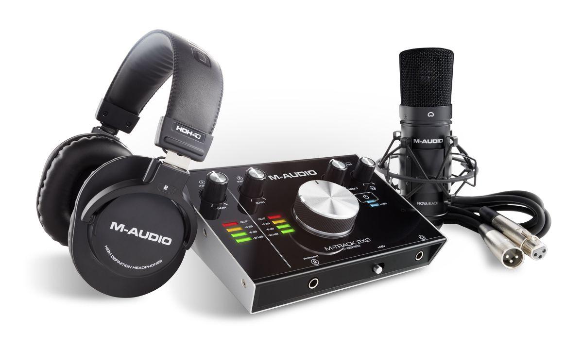 Kit gravador de Audio Profissional