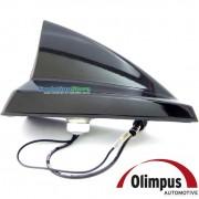 Antena New Shark Olimpus PRETA (11.03.0345) Automotiva Teto Carro