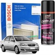 Filtro De Cabine Ar Condicionado Corolla 2003 À 2007 Com Spray Higienizador | Bosch 0986BF0557
