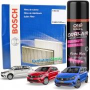 Filtro De Cabine Ar Condicionado Bosch Argo Cronos + Spray Higienizador