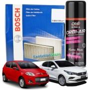Filtro De Cabine Ar Condicionado Bosch Palio G5 / Grand Siena + Spray Higienizador
