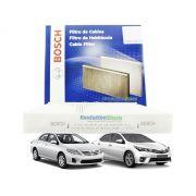 Filtro De Cabine Ar Condicionado Corolla 2008 À 2019 - Bosch 0986BF0558