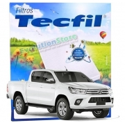 Filtro De Cabine Ar Condicionado Hilux 2016 A 2019   Tecfil ACP889